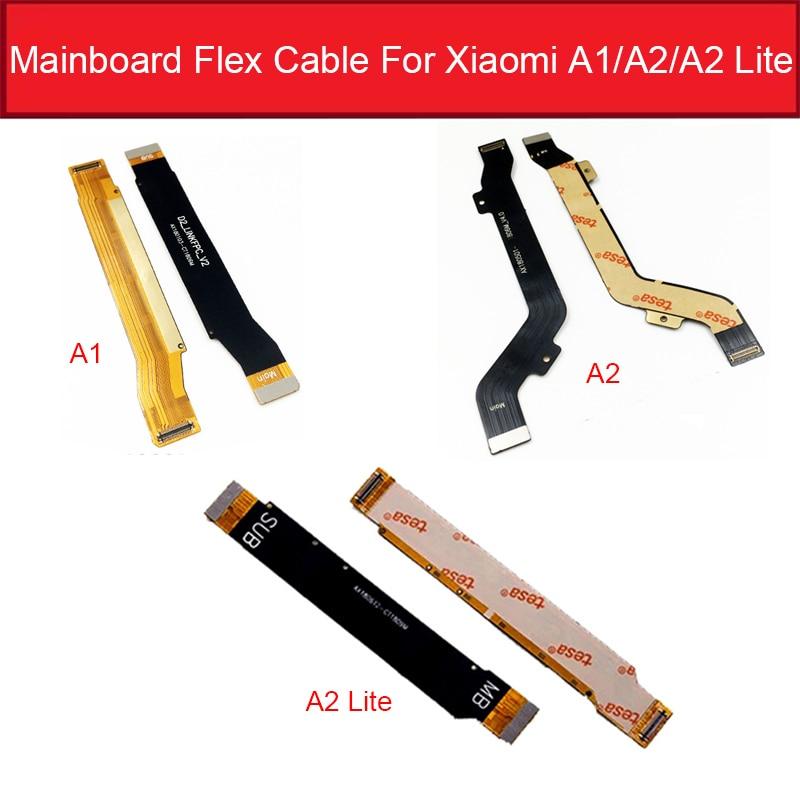 Main Board Motherboard LCD Flex Cable For Xiaomi Redmi Mi A1 A2 5X 6X 6 Pro LITE MainBoard Flex Ribbon Replacement Repair