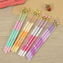 50PCS Crown Gel Pen Korea Cute Creative Stationery Kawaii School Supplies