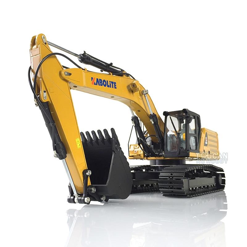 1/16 HUINA RC 2.4G K336GC Metal Hydraulic Excavator Model Gift Car Battery Radio TH18067-SMT4