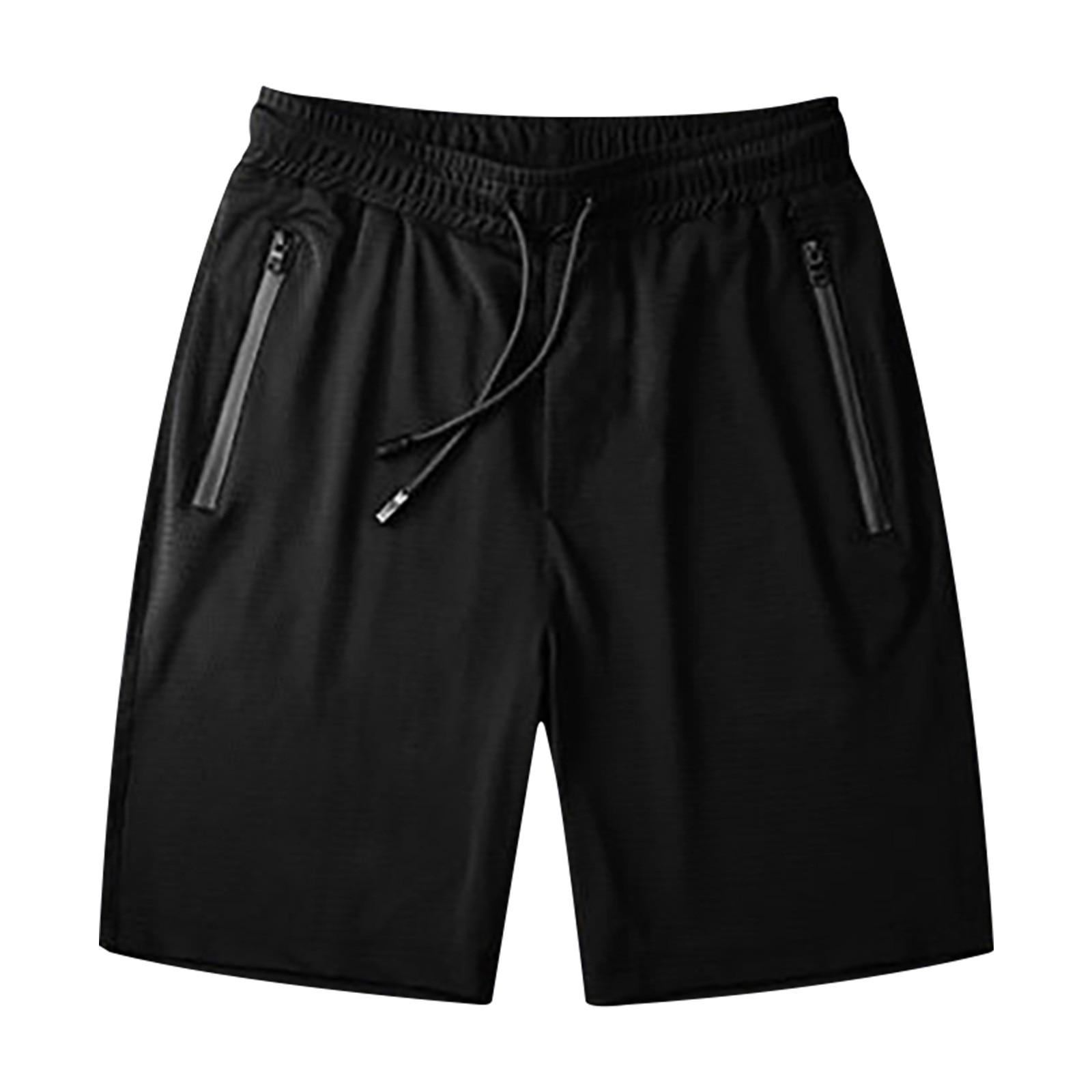 Pantalones Cortos informales para Hombre, De seda De hielo, para correr, Yoga,...