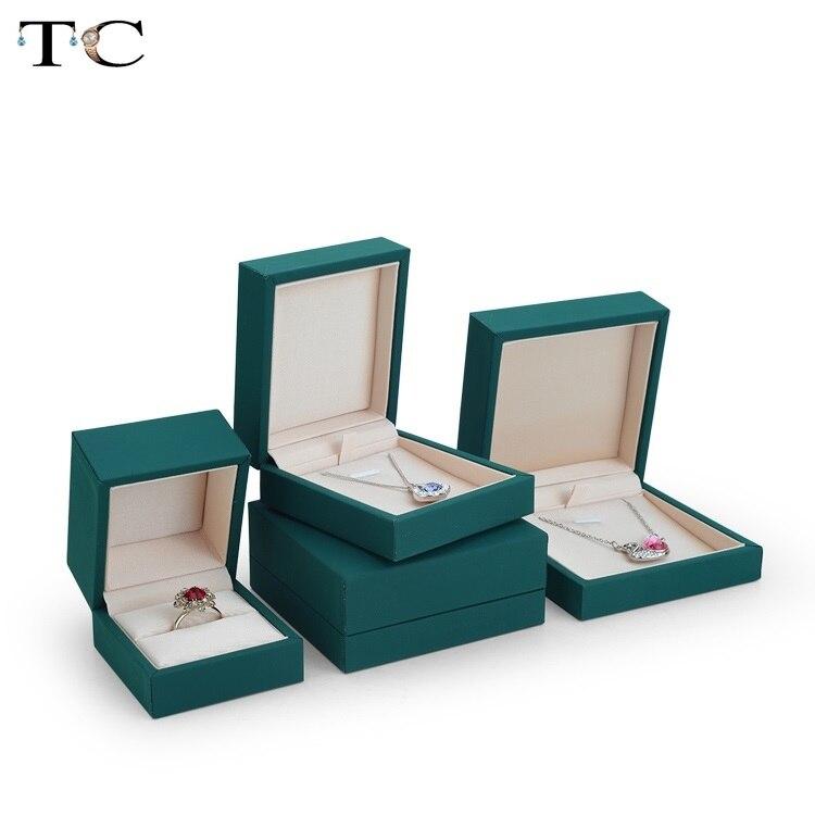 Шкатулка-для-ювелирных-изделий-коробка-с-зеленым-кулоном-для-браслетов-колец-Подарочная-коробка-для-демонстрации-ювелирных-изделий