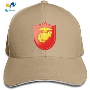 U.S.M.C 1st Samoan Battalion Vinyl Transfer Men Cotton Classic Baseball Cap Adjustable Size