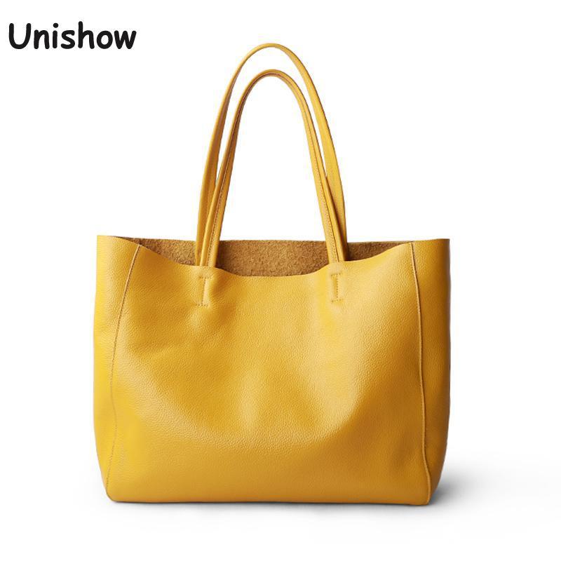 luxury Soft Genuine Leather Women Shoulder Bags Large Capacity Female Totes Bag Brand Designer Leather Lady Handbag Casual