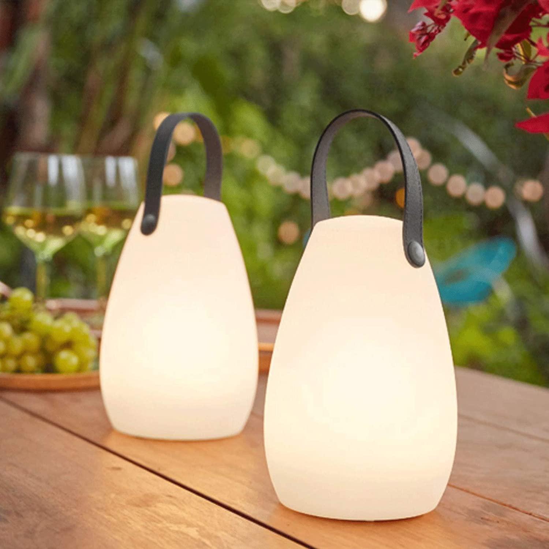 Переносные водонепроницасветильник светодиодсветодиодный декоративные настольные садовые лампы с дистанционным управлением