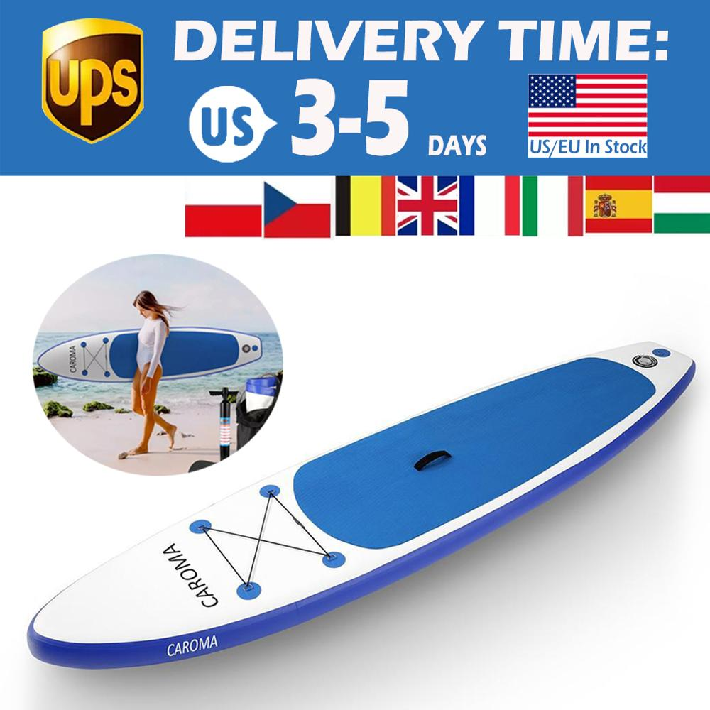 Portable Surfboard Inflatable Stand Up Adult Anti-leak Valve Paddle Board Carry Sling Stand Up Surfing Surf Paddle Board Carrier