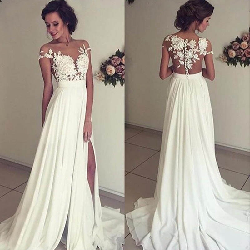 Get Luxury Wedding Dress Embroidered Lace Sweetheart Neck Ball Gowns Sleevelesswith Appliques Sashes Vestido De Noiva Plus Size