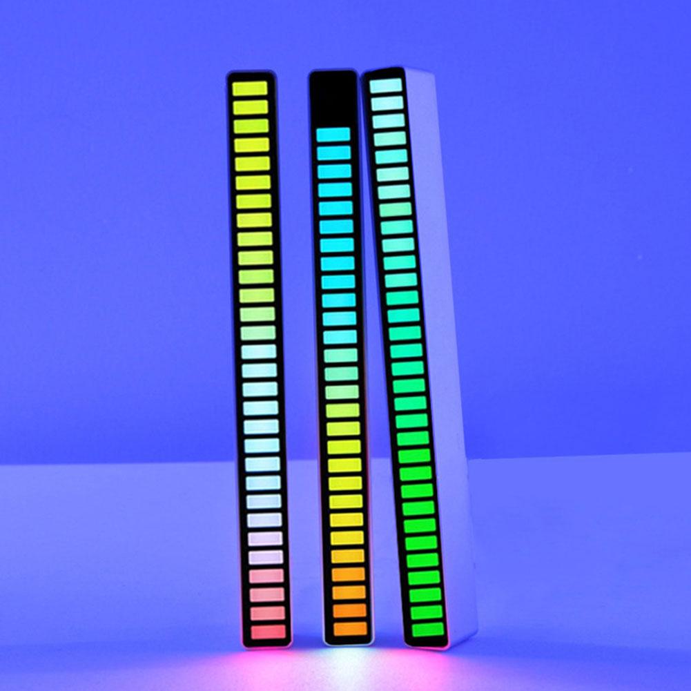 aliexpress.com - LED Strip Light Sound Control Pickup Rhythm Light Music Atmosphere Light RGB Colorful Tube USB Energy-Saving Lamp Ambient Light
