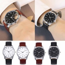 Men Waterproof Mechanical Watch Top Brand Men Simple Business Fashion Leather Quartz Wrist Watch Aut