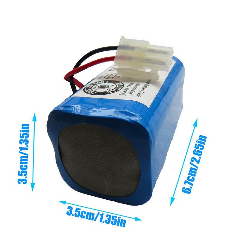 Kostenloser versand 14,8 V 2800mAh Akku für Chuwi ilife V7s A4 A4s A6 robotic für ILIFE ecovacs reiniger teile v7s plus