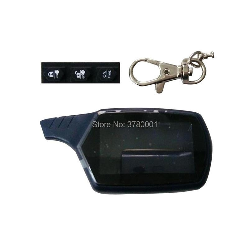 B9 Key Shell Keychain Body Case For Russia Car Alarm Starline B9 B6 A91 A61 Jaguar ez-one EZ-6 EZ-5 EZ-alpha EZ-Beta EZ-3 EZ-one