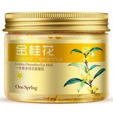 OneSpring Golden OsmanthusMoisturizing Remove Dark Circle Eye Mask Anti-Aging Whitening Anti-Puffine