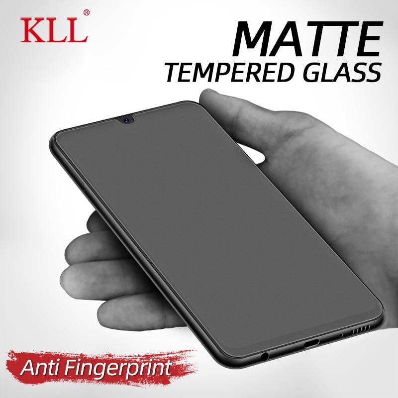 No Fingerprint Matte Frosted Glass for Samsung Galaxy A50 A20 A30 A10 A40 A70 A30S A50S A51 Tempered