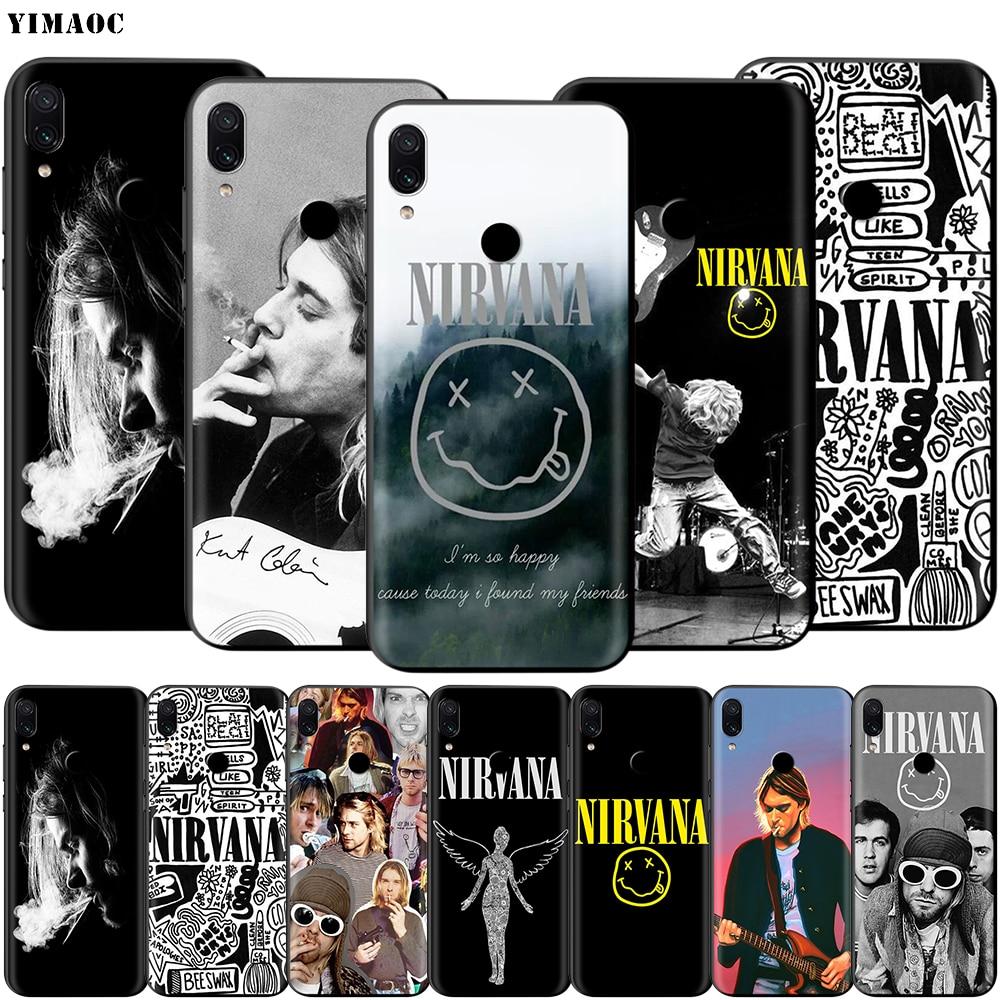 YIMAOC Nirvana Kurt Cobain чехол для Xiaomi Redmi Note 4 4x 4a 5 5a 6 8 8A MI 9 10 8T Pro Plus