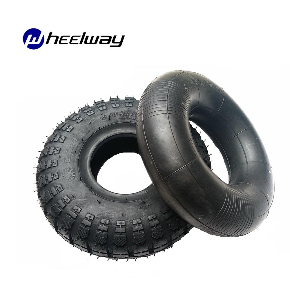 10 inch 4,10/3,50-4 Elektrische Roller Rad Reifen Innenrohr Und Reifen Fit Aufblasbare Reifen Elektrische Roller balance Stick Fahrrad