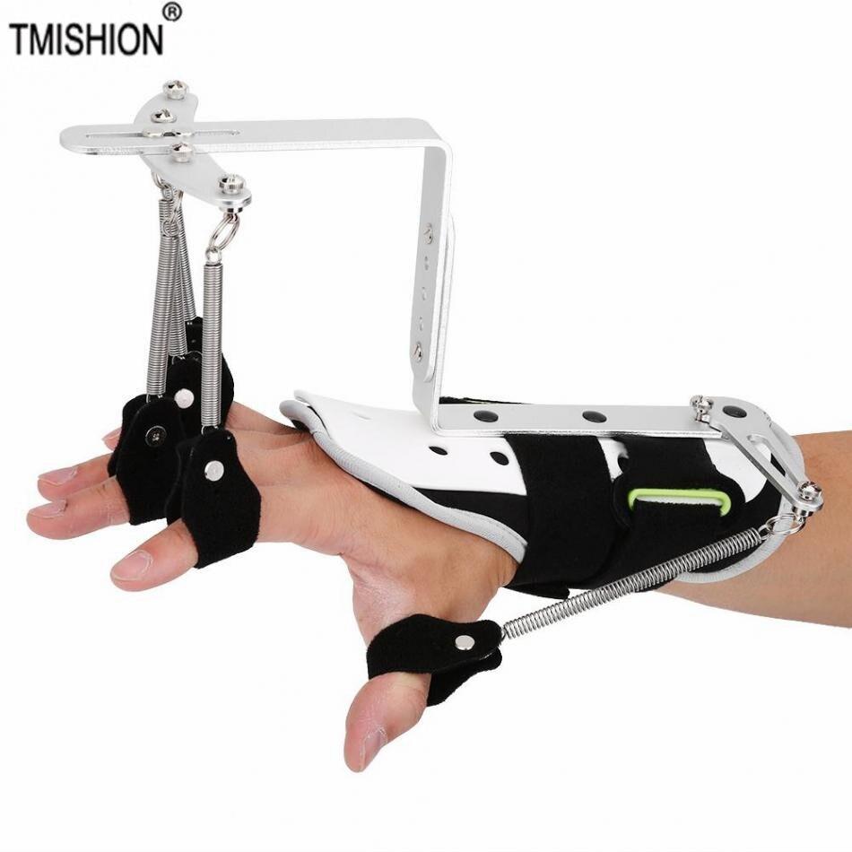 Postura da mão corretor ortopedia médica mão reabilitação treinamento joint brace para curso hemiplegia paciente tendão trainer