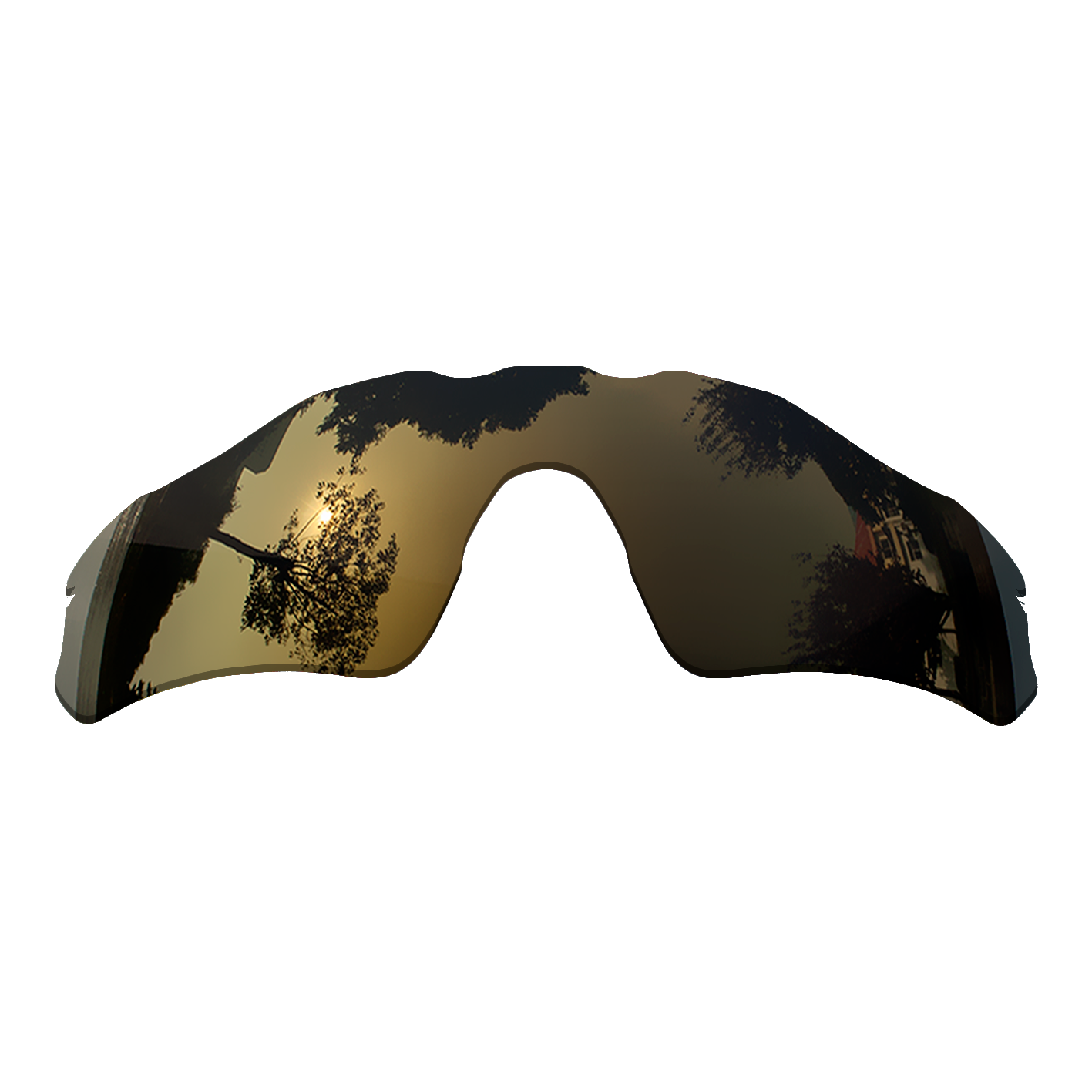 Polarized Replacement Lense For-Oakley Radar EV Path Sunglasses Frame True Color Mirrored Coating - Copper Color Options