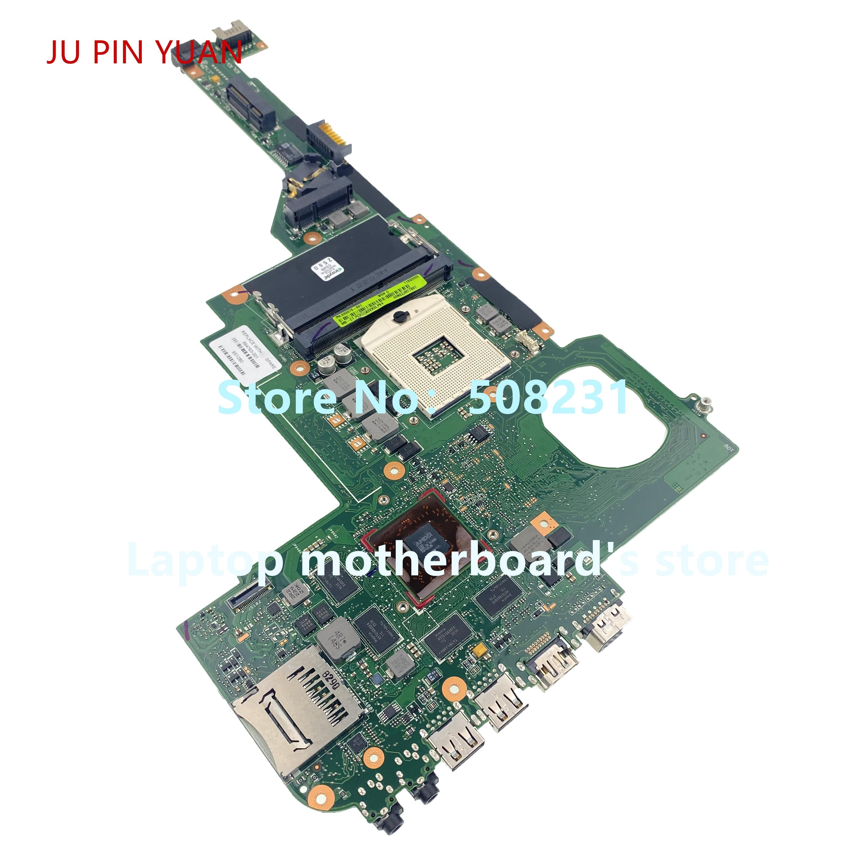 Ju pin Yuan 694763-001 694763-501 para HP pabellón DV4-5000 placa base de computadora portátil 100% totalmente