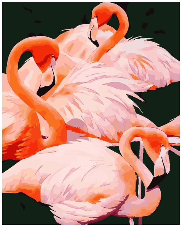 Animal diamante pintura punto de cruz flamenco pájaro diamante bordado completo diamante redondo dotz Diamante de imitación diamante imagen mosaico