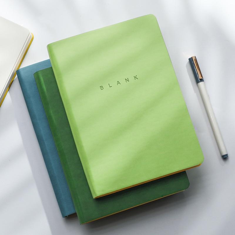 Блокнот формата А5 для ежедневного бизнеса и офиса, блокнот на 288 страниц, ультратолстый кожаный блокнот, дневник, Обучающие школьные принад...