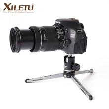 Xiletu MT26 + XT15 Hoge Lager Desktop Beugel Mini Tafelblad Statief En Balhoofd Voor Dslr Camera Mirrorless Camera Smartphone
