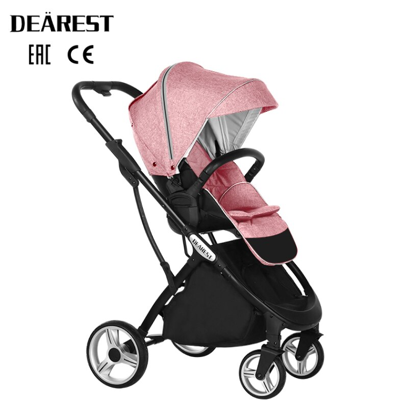 2021 New Baby Stroller High Seat  Landscape Two - Way  Dearest 1108 Four Seasons Free Shipping In Russia