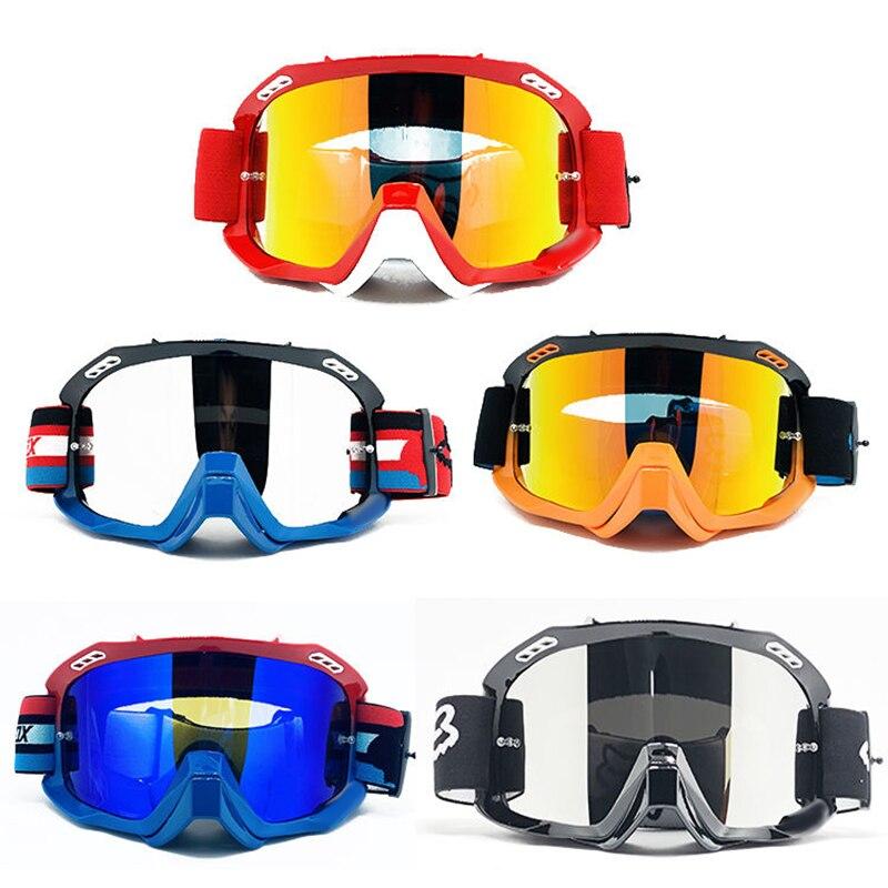جديد الدراجات نظارات دراجة هوائية جبلية UV حماية Mx نظارات للدراجات النارية الجبلية DH تزلج الرياضة ركوب دراجة نارية خوذة نظارات
