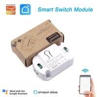 Tuya     interrupteur Wifi sans fil  10a  minuterie  Module de controle pour maison connectee  application Smart Life  Alexa Google Home Assistant IFTTT