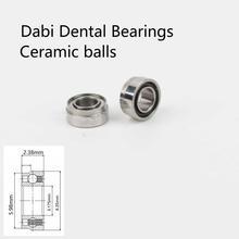 Dabi-roulements dentaires en céramique   SR144TLKZN