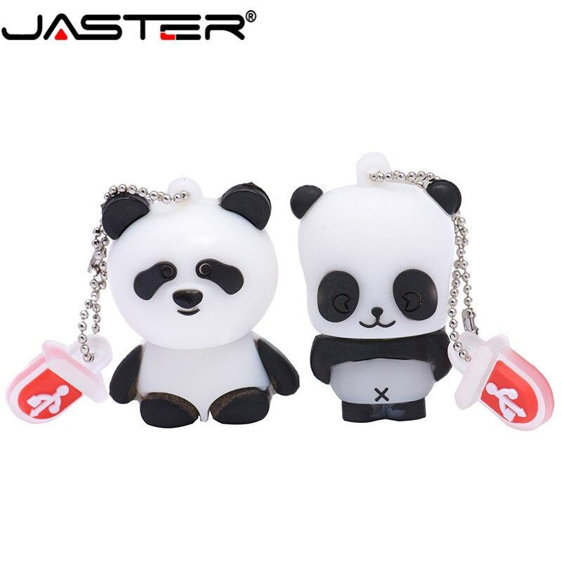 JASTER-unidad flash USB con forma de Panda, pendrive de 4GB, 8GB, 16GB,...