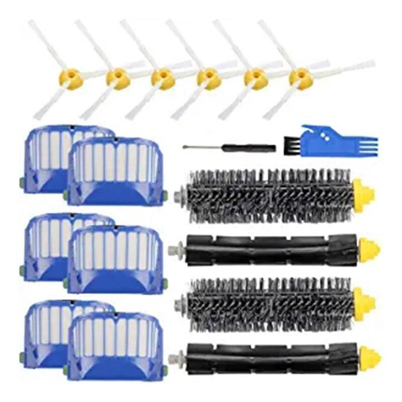 Piezas de repuesto para IRobot Roomba 600 500 Series 695 690 680 660 650 Kit de reposición de aspiradora