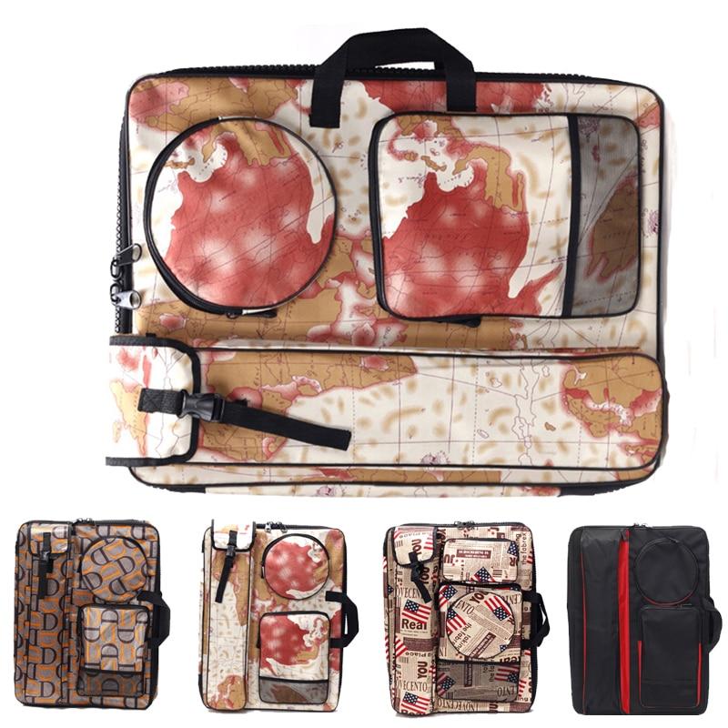 Waterproof 4K drawing board bag student sketch sketch drawing bag shoulder pencil bag large capacity storage box art backpack
