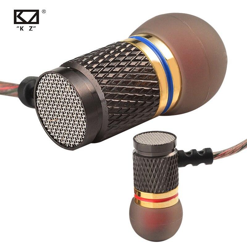 KZ EDR1 специальное издание позолоченный корпус наушники с микрофоном 3,5 мм HD HiFi в ухо монитор бас стерео наушники для iPhone Huawei