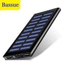 Solar 50000mah Power Bank External Battery 2 USB LED Powerbank Portable Mobile phone Solar Charger f