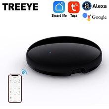 TREEYE IR Controller Blaster telecomando senza fili a infrarossi tramite Smart Life Tuya APP lavora con Alexa Google Home