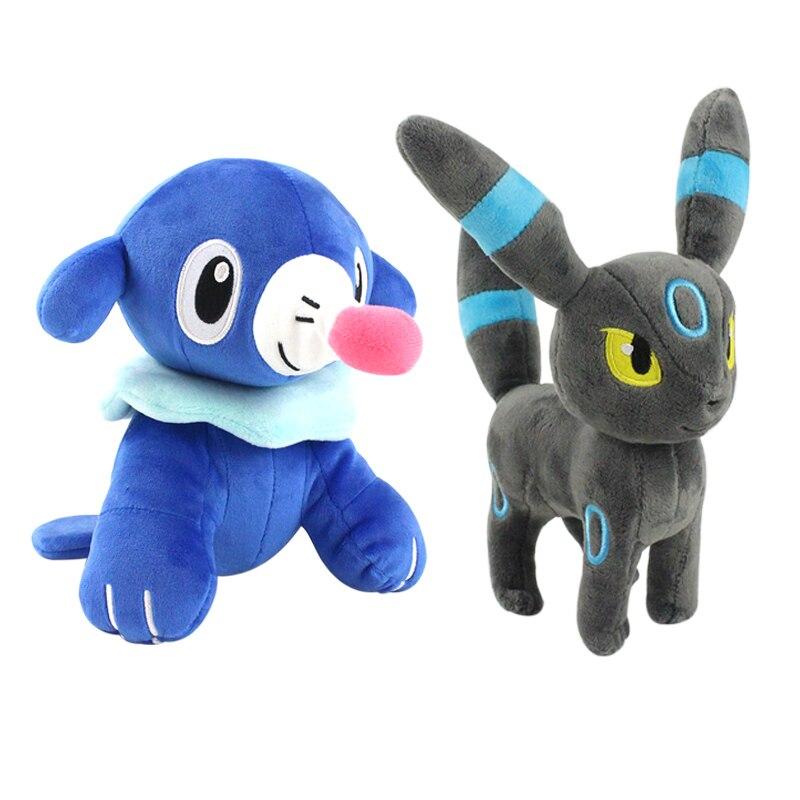 20cm 23cm animé mascotas peluche juguete poplio Umbreon Eevee suave muñecas de peluche regalos para niños