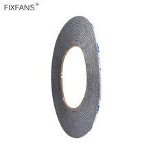 FIXFANS 2mm x 50M Double face ruban adhésif fort acrylique autocollant bande pour téléphone portable tablette LCD écran affichage réparation outils