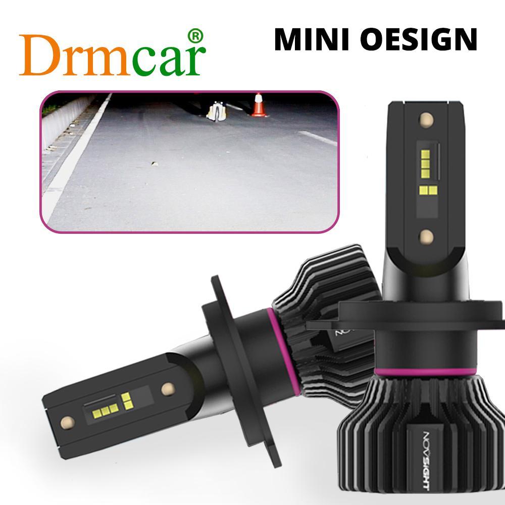 H4 LED H7 led  H1 H8 H11 Mini Car Headlight Bulbs LED Lamp H7 12v 24v 9005 HB3 9006 HB4  Auto Headlamps Fog lights Kit