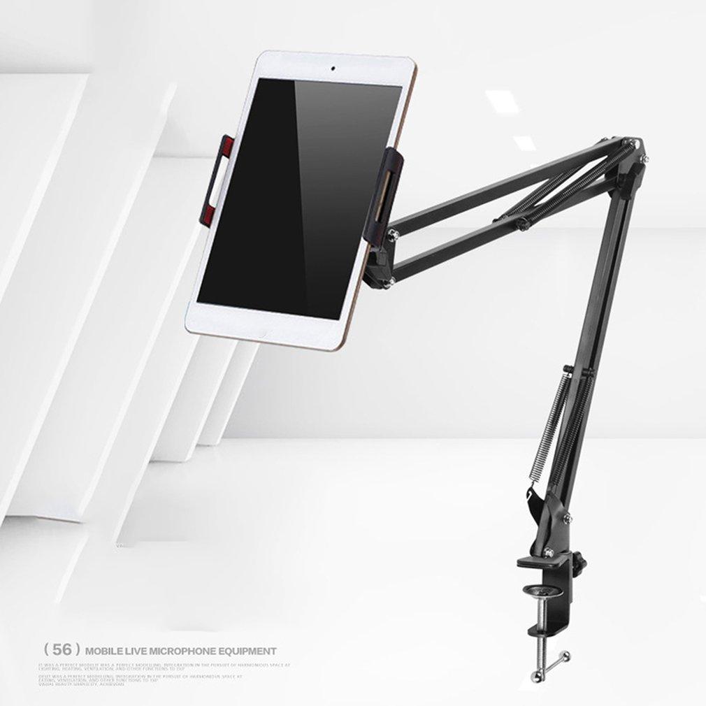 6 a 11 pulgadas soporte de tableta para ipad soporte 2 3 4 Air Mini soporte de brazo largo teléfono móvil cama para tableta/escritorio coche Clip soporte