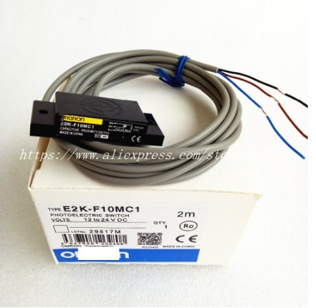 E2K-F10MC1, nuevo interruptor capacitivo con Sensor de proximidad NPN NO