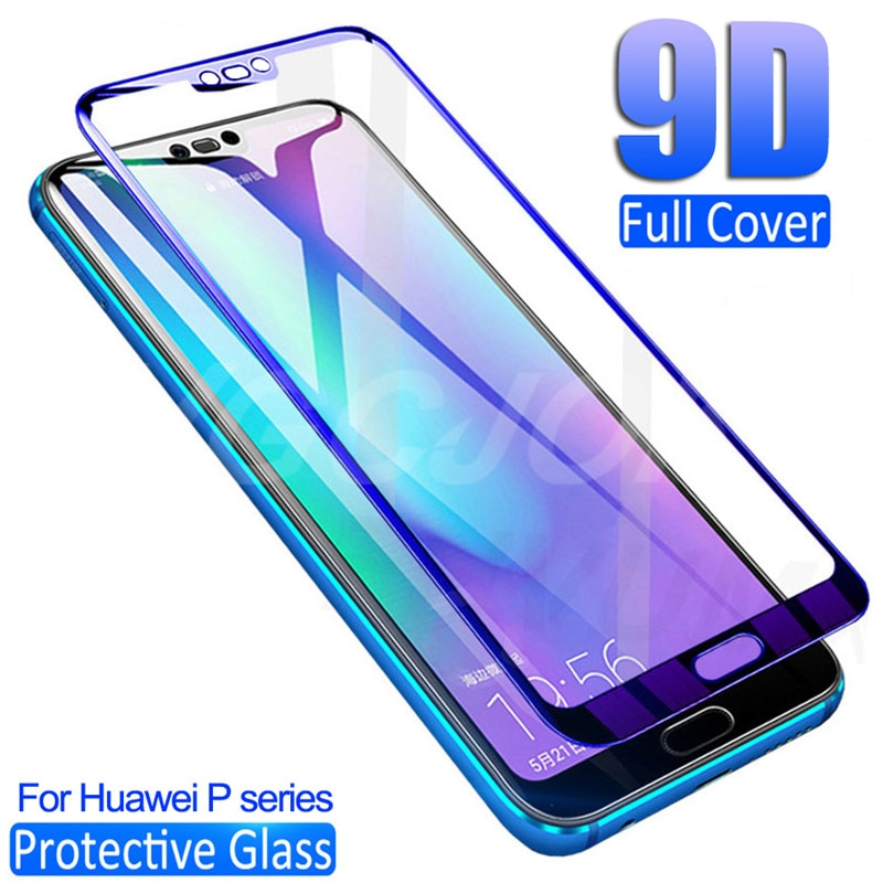9D Protective Glass For Huawei P30 Lite P20 Pro Screen Protector On P10 Plus P9 Lite 2017 P smart 20