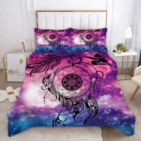 3d bedding set bohe duvet cover sets pillowcase zipper closure single double twin full queen king size for kids adults xf1030 7