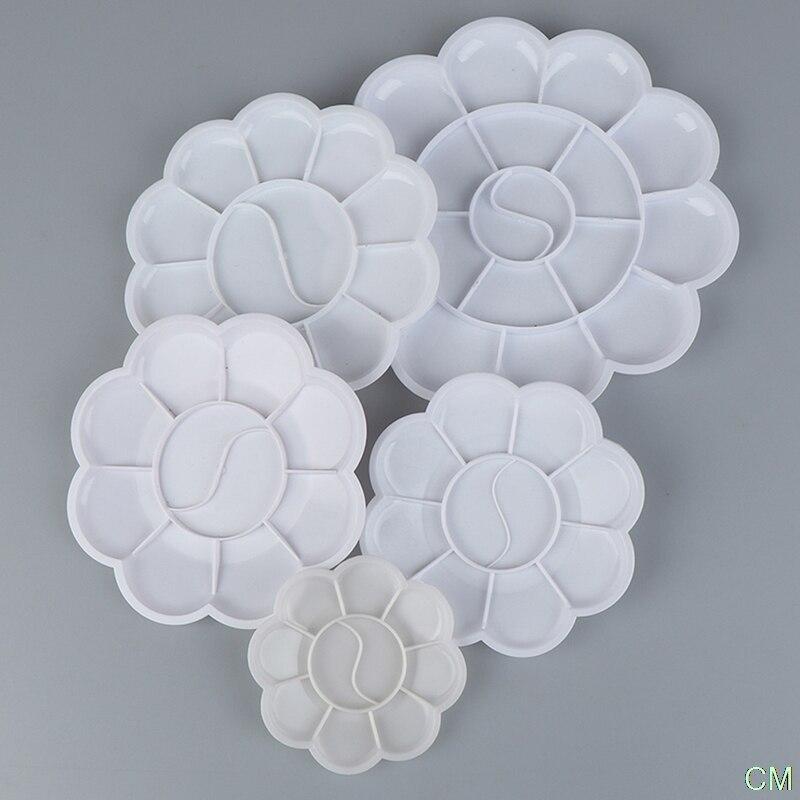 4-размерная пластиковая паллеты для рисования, пластиковые паллеты