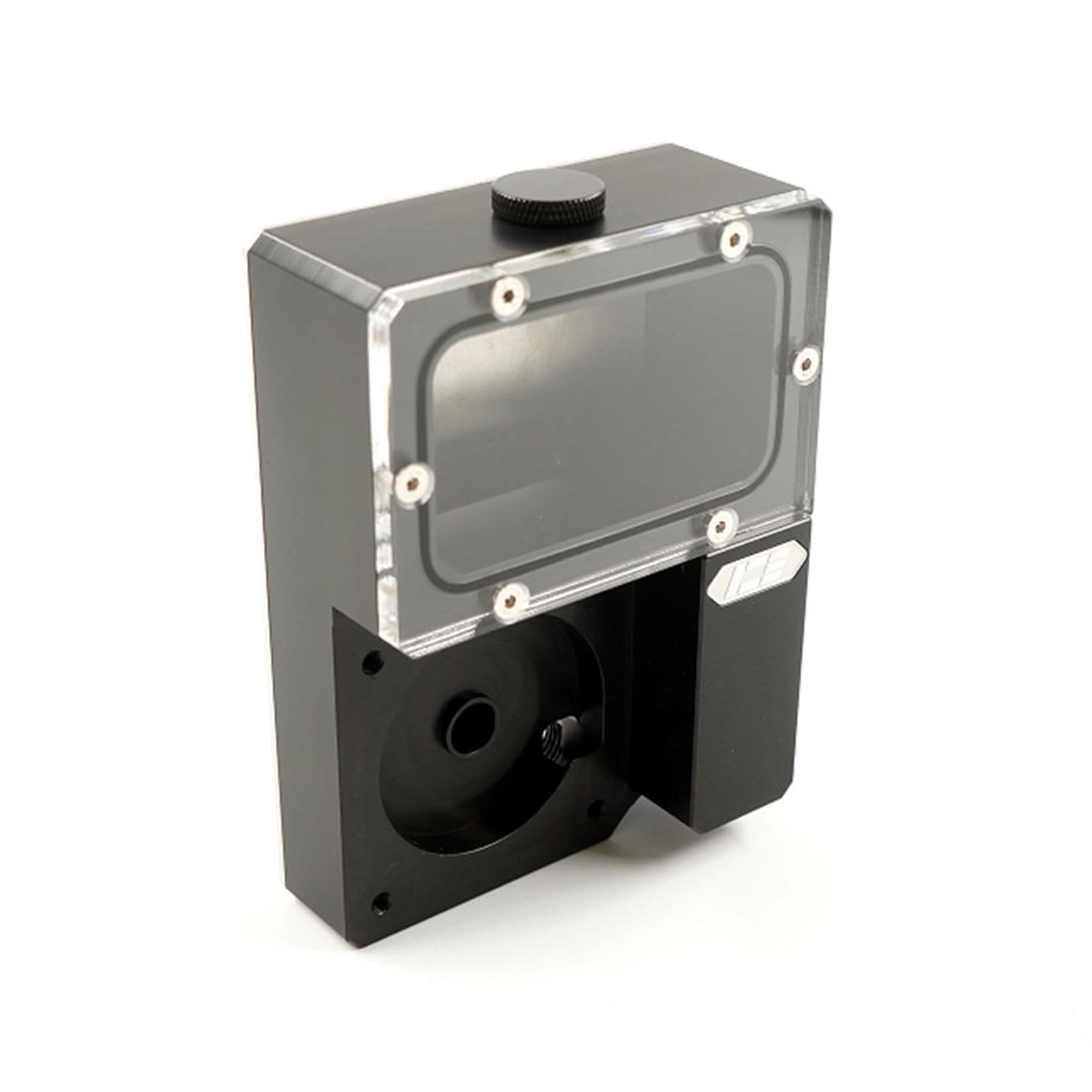 Охладитель Ncase Iceman DDC Combo Res Ncase резервуар, резервуар для воды Ncase Chasis M1 V4 V5 V6, черный
