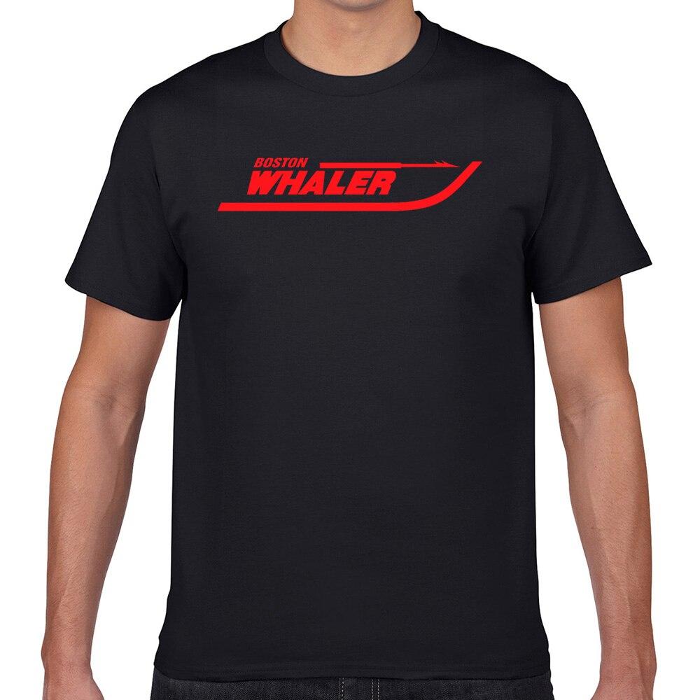 Tops Camiseta Hombre boston whaler super Humor blanco Geek algodón hombre Camiseta XXXL