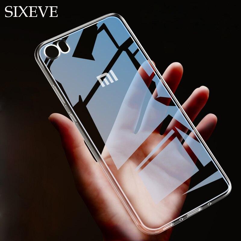 Capa de parte traseira fina transparente, capa para xiaomi redmi 3s 4 4pro 4a 4x 5 5a 5plus 6 6a 6pro capa de silicone macio para celular note, 2 3 4 4x 5 6 7