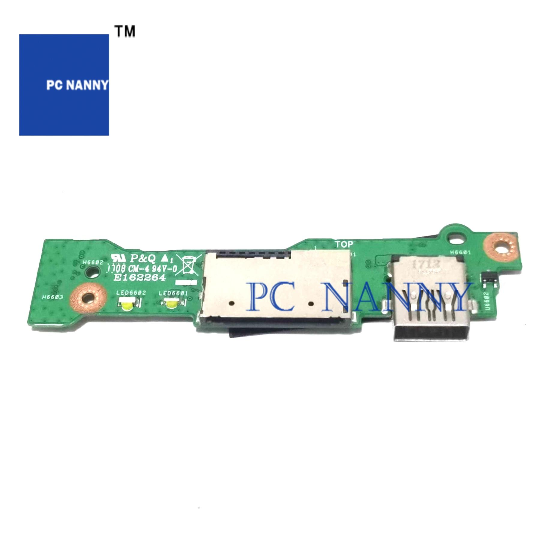 PCNANNY para Asus ZenBooK UX430 UX430UA UX430UQ UX430UN tarjeta sd uSB Placa...