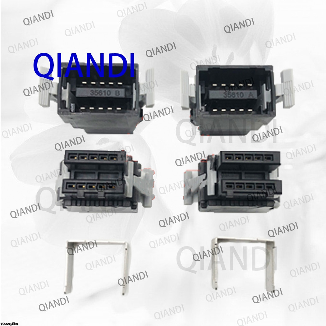 QIANDI A6CON-LJ5P A6CON-PWJ5P A6CON LJ5P A6CON PWJ5P ل CC-LINK CC رابط موصل موصلات محول تردد المكونات