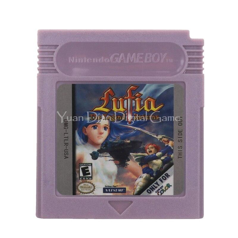 Cartucho para Nintendo GBC, tarjeta de consola de videojuegos, Lufia The Legend,...