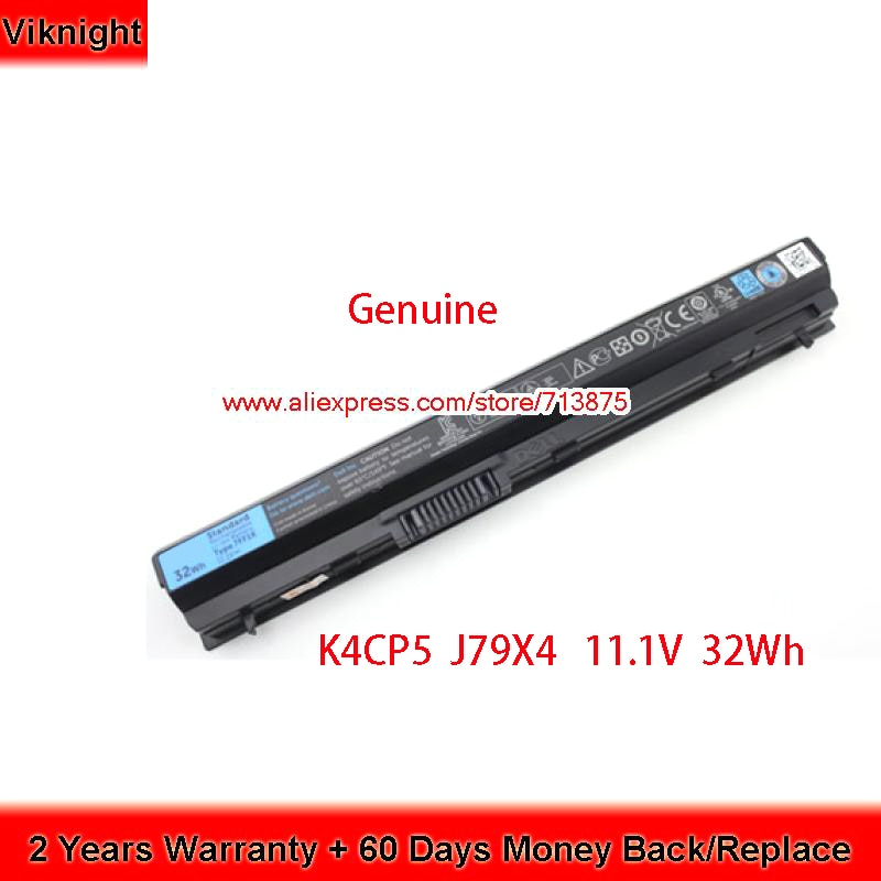 Genuino 11,1 V 32Wh K4CP5 J79X4 FRROG batería para Dell 312-1242 E5220 E6230 E6320 E6330 E6430s portátil