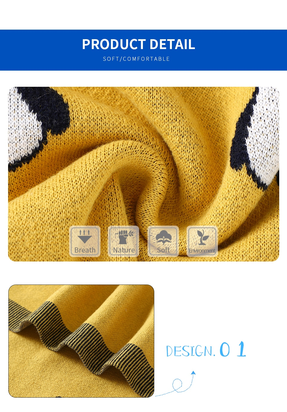 Super Soft Knitted Baby Blanket For Newborn Best Children's Lighting & Home Decor Online Store